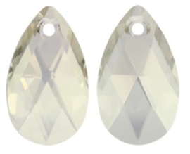 Swarovski Drop 6106 28 mm Crystal Silver Shade (per 1)
