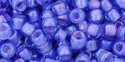 TR-06-934 Inside-Color Lt Sapphire/Opaque Purple Lined (per 10 gram)
