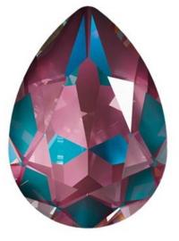 Swarovski Drop 4320 14 x 10 mm Crystal Burgundy DeLite (per 1)