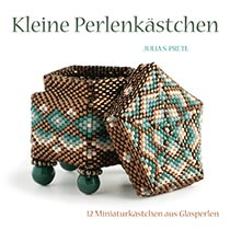 Kleine Perlenkästchen - Julia S. Pretl  (per stuk)