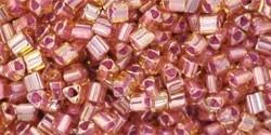TG-11-960 Inside-Color Lt Topaz/Pink Lined (per 10 gram)