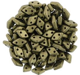 CzechMates Diamond Metallic Suede - Gold (per 5 gram)