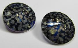 Glass Rivoli 14 mm Crystal Blue/Purple Patina (per 1)