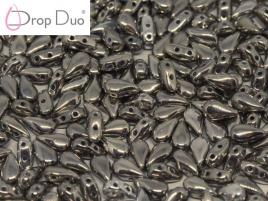 DropDuo 3 x 6 mm Crystal Argentic Full (per 50)