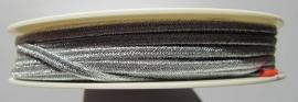 Soutache 3 mm *6010 Metallic Silver (per meter)