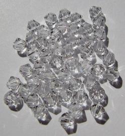 Swarovski Bicone 4 mm Crystal (per 50)