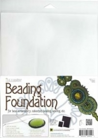 Beading Foundation White (per A4 vel)