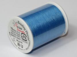 Nozue Sonoko Beading Thread Blue (per 100 meter)