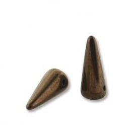 Spikes 5 x 13 mm Jet Bronze (per 8)