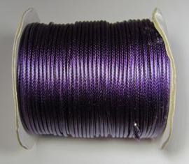 Waxkoord 2 mm Medium Purple W139 (per meter)