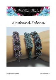 Patroon Armband Zelena (PDF-Bestand)