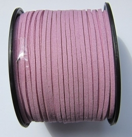 Suede Imitation 3 mm Light Orchid SU024 (1 meter)