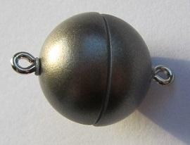 Magnetic Clasp Acrylic Mat Granite 15 mm S502 (per 1)