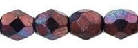 Facet 3 mm Luster - Metallic Amethyst (per 75)