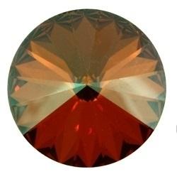 Swarovski Rivoli 14 mm Crystal Copper (per stuk)