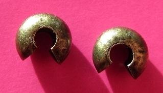 Crimp Bead Cover H229 K (per 14)