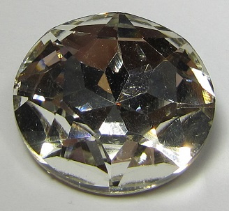 Glas Rivoli 27 mm Crystal (per stuk)