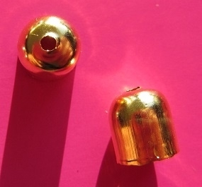 End Cap Simple 8 mm SP258 G (per 10)