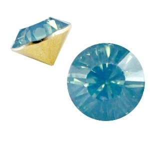 Resin Chaton SS29 Blue Pacific Opal (per 10)