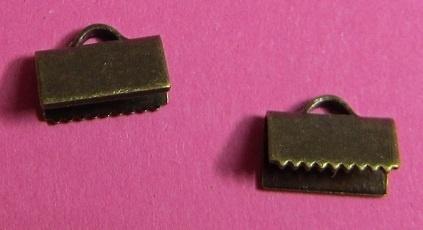 Ribbon Crimp End 10 mm H298 K (per 6)