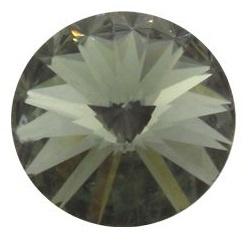 Swarovski Rivoli 18 mm Black Diamond (per stuk)