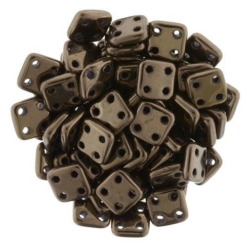 CzechMates QuadraTiles Dark Bronze (per 5 gram)