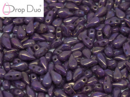 DropDuo 3 x 6 mm Chalk White Iris (per 50)