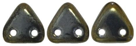 CzechMates Triangles Iris - Brown (per 5 gram)