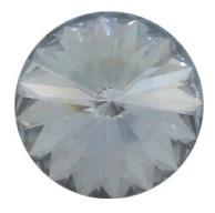 Swarovski Rivoli 14 mm Crystal Blue Shade (per stuk)
