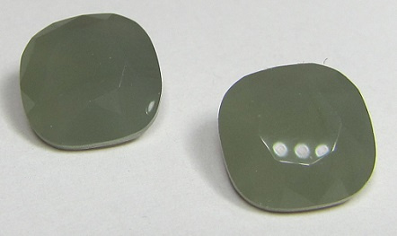 Glass Square 12 mm Opaque Grey (per 1)