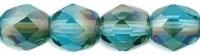 Facet 6 mm Aquamarine - Celsian (per 24)
