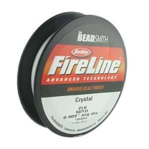 Fireline Crystal 0,08 mm 2 LB (per rol van 45 meter)
