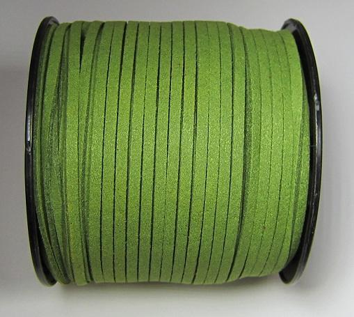 Suede Imitatie 3 mm Fern Green SU039 (per meter)