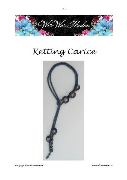 Pattern Necklace Carice (PDF-File)