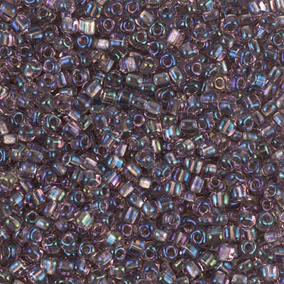 TR10-1836 Spkl Lined Smoky Amethyst AB (per 10 gram)