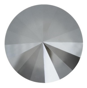 Swarovski Rivoli 14 mm Crystal Dark Grey (per stuk)
