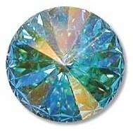 Swarovski Rivoli 14 mm Crystal AB (per 1)