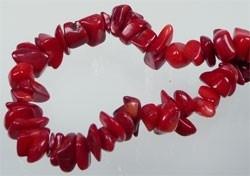 Koraal rood onregelmatig ± 5-10mm (± 300 st