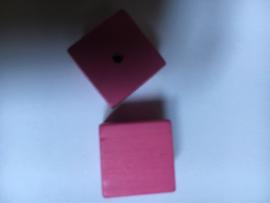 Blokkraal rosé 10 mm p.stuk