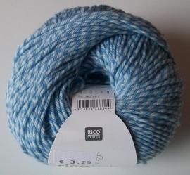 Rico, Baby Classic DK, kleurnummer 024 (Blue twist)