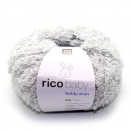 Rico, Baby Teddy Aran, kleurcode 011 (zachtgrijs)