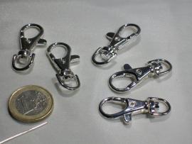 090017 Musketonhaken (zilverkleur)