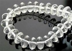 rondel kristal 8 x 6 mm Prijs is per 10 stuks!