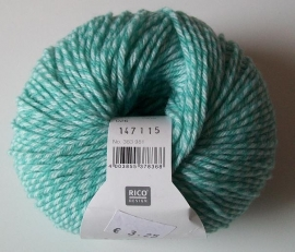 Rico, Baby Classic DK, kleurnummer 026 (Turquoise twist)