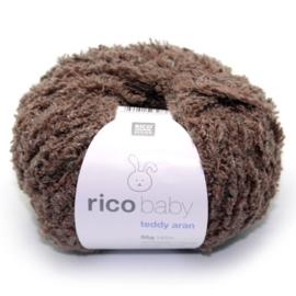 Rico, Baby Teddy Aran, kleurcode 017 (bruin)