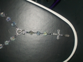 210087 rozenkrans  kristal 8 mm ab glas, supertrend!