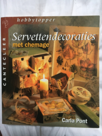 Servettendecoraties met chemage isbn 90-213-2814-3