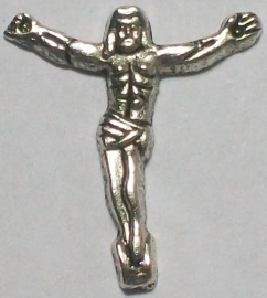 090463 Corpus Christi (nikkelkleur) 20x17 mm