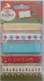 Ripsband, assortiment kleuren