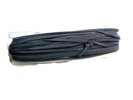 Leder veter grijs per meter